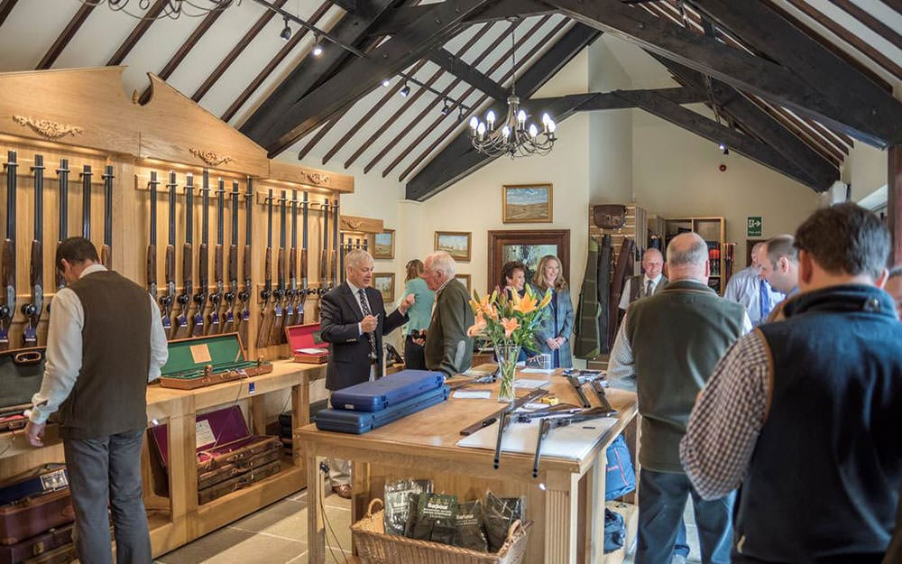 Sportarm at Lady's Wood Gunroom at Lady's Wood Shooting School