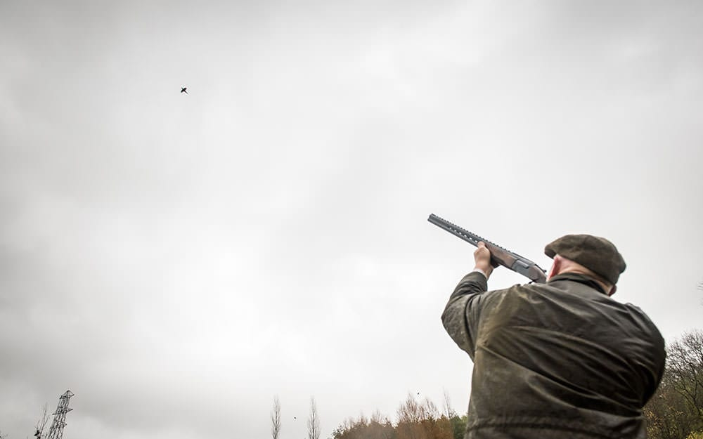 Game shooting at Lady's Wood Shooting School