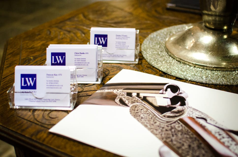 Gift Vouchers for Lady's Wood Shooting School