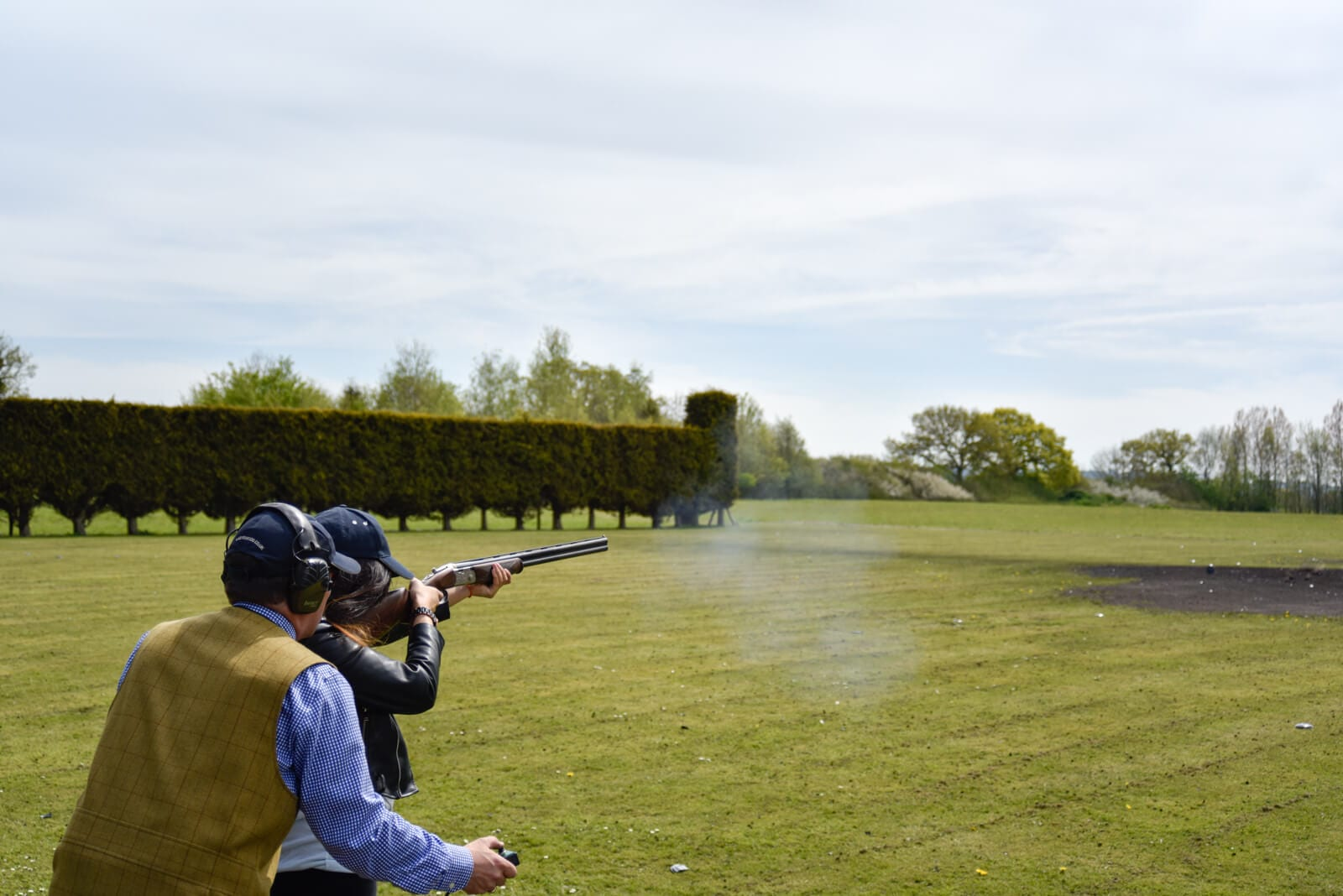 Testimonials - Clay pigeon shooting instruction at Lady's Wood Shooting School