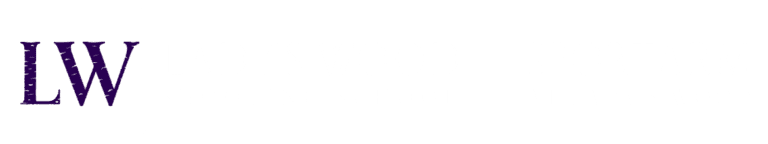 Lady's Wood Shooting School and Sportarm at Lady's Wood logo in white