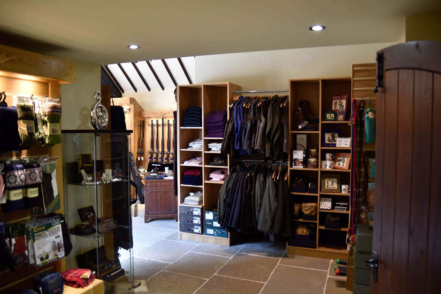 Shooting accessories sold at the Sportarm at Lady's Wood Gun Room