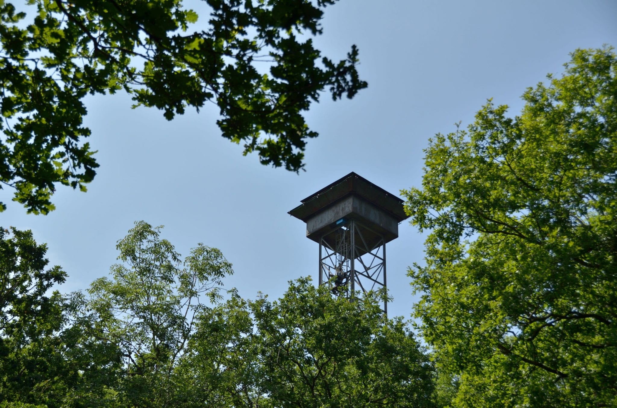 Clay Shooting Tariff - The shooting tower at Lady's Wood Shooting School