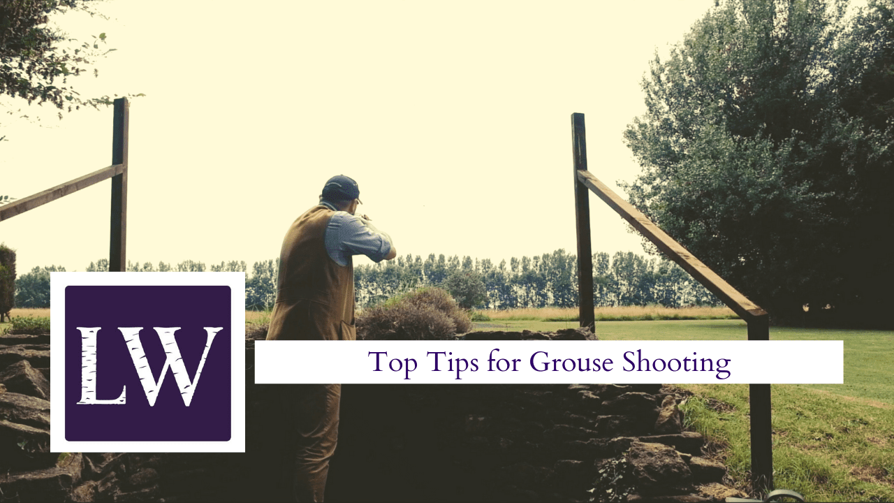 Grouse shooting tips YouTube thumbnail