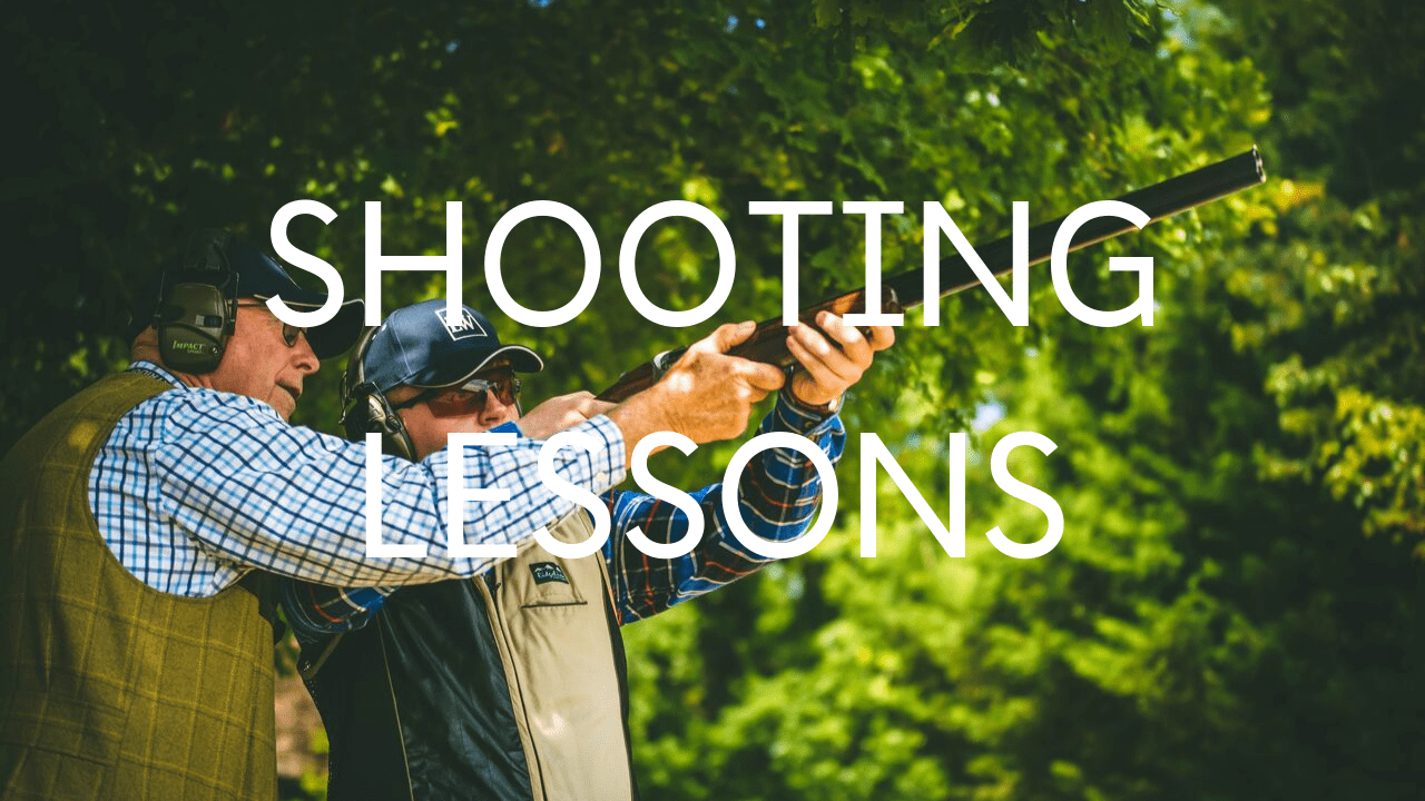 Button with link to shooting lessons
