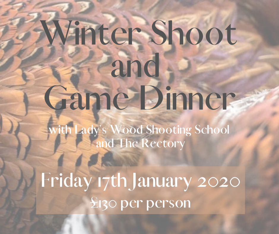 Winter Shoot and Game Dinner Poster