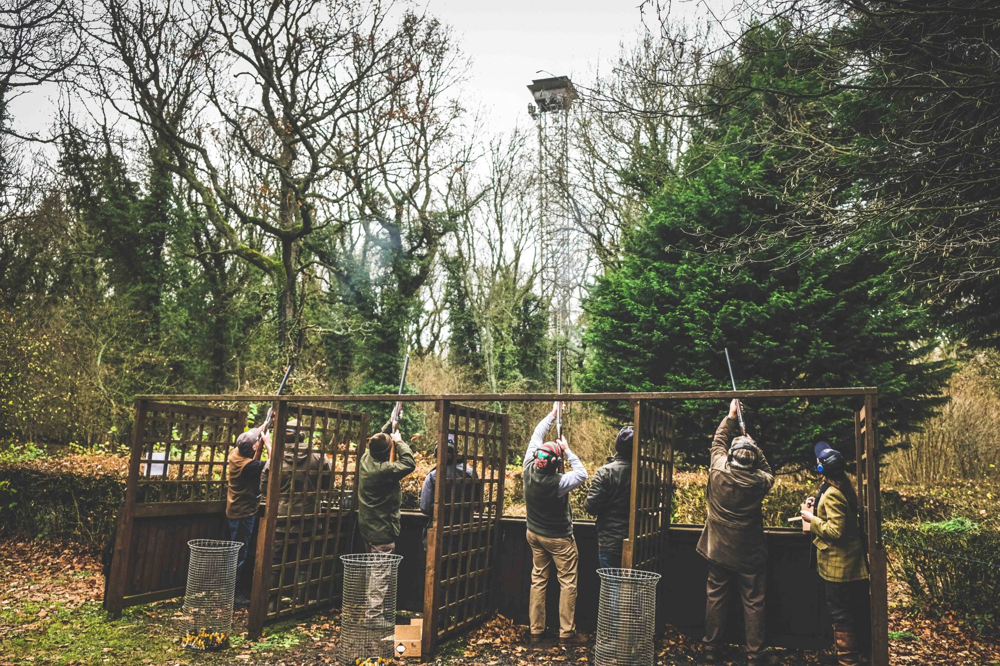 Festive Flurry Day at Lady's Wood Shooting School