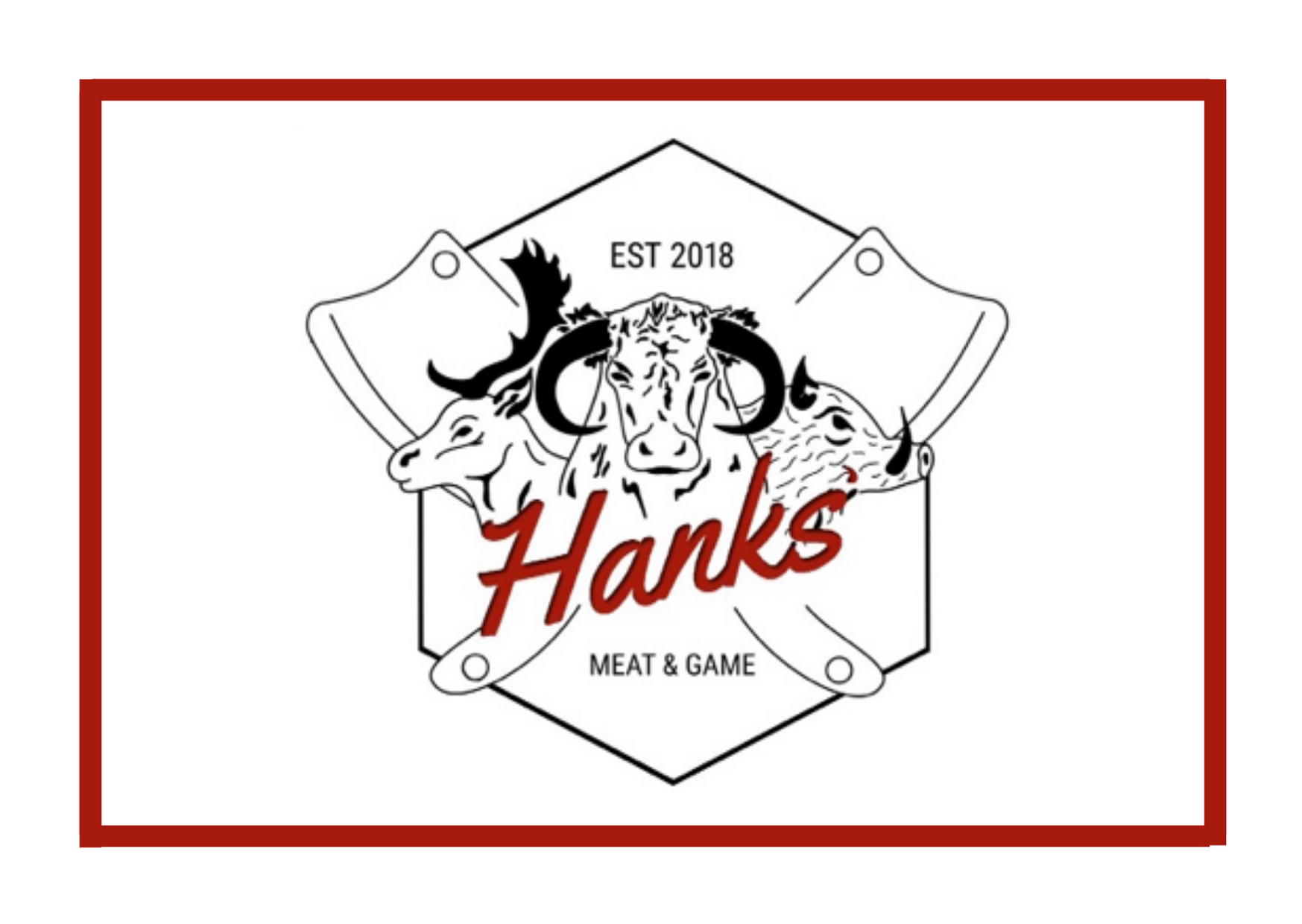 Hanks Meat and Game logo