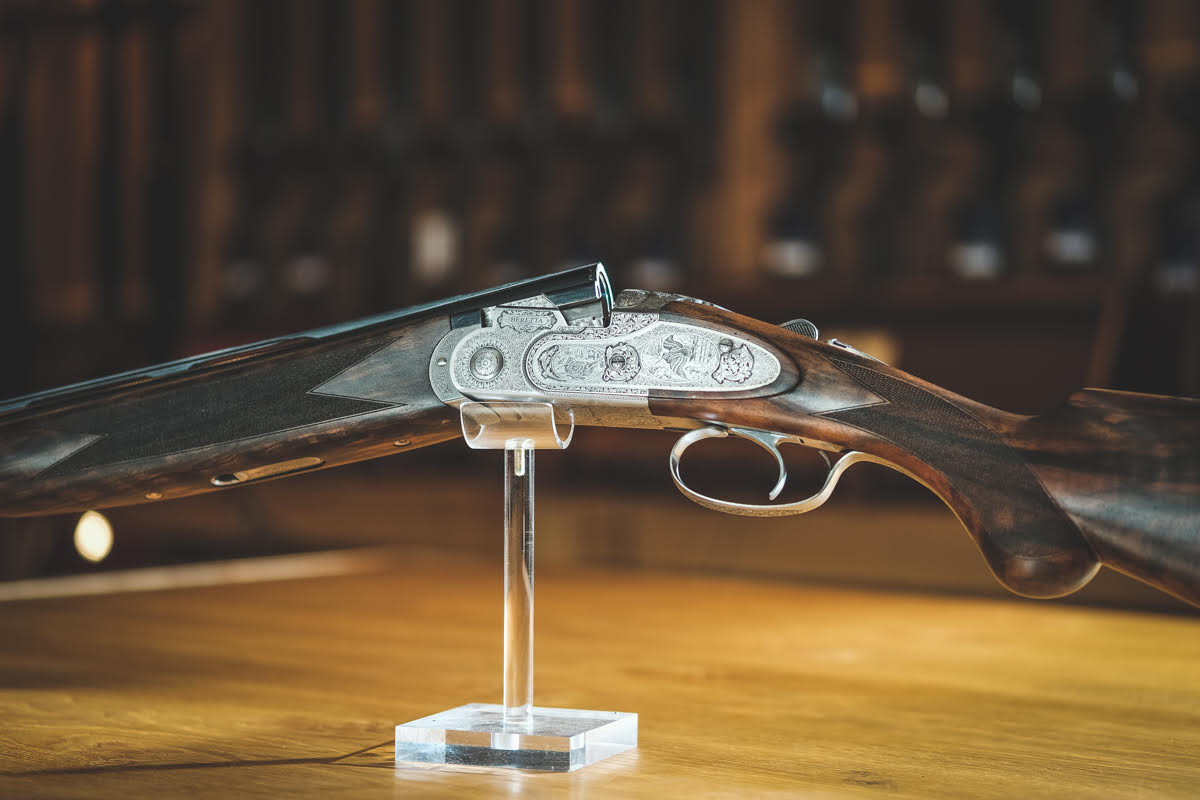 An example of a preowned shotgun available to purchase from Sportarm at Lady's Wood