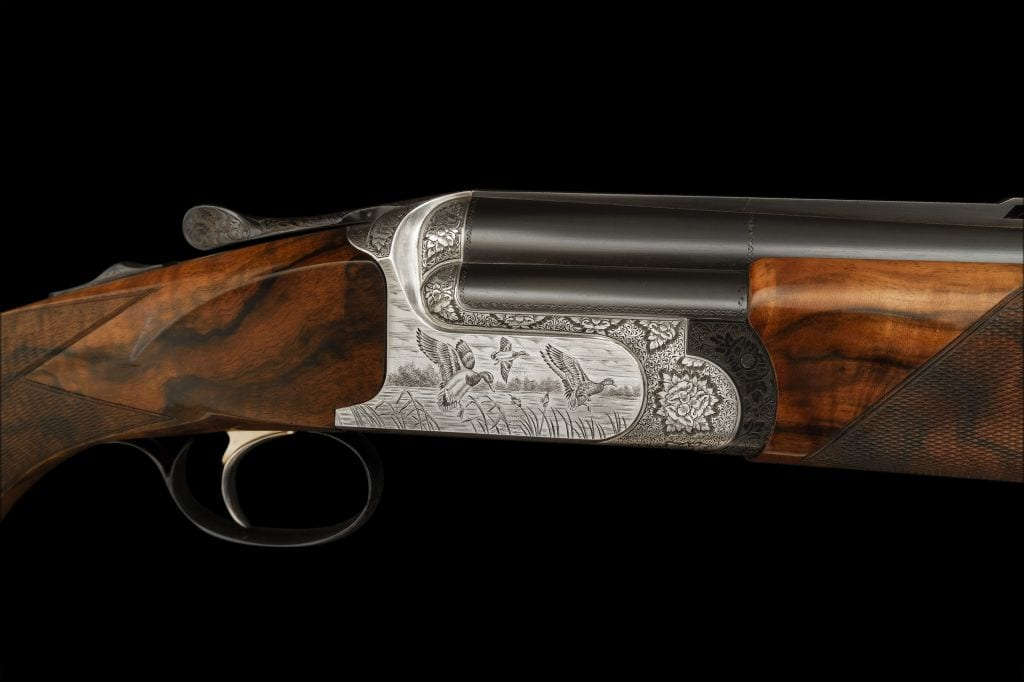 A Perazzi available to purchase from Sportarm at Lady's Wood