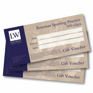 Bowman Sporting Practice Shop Image