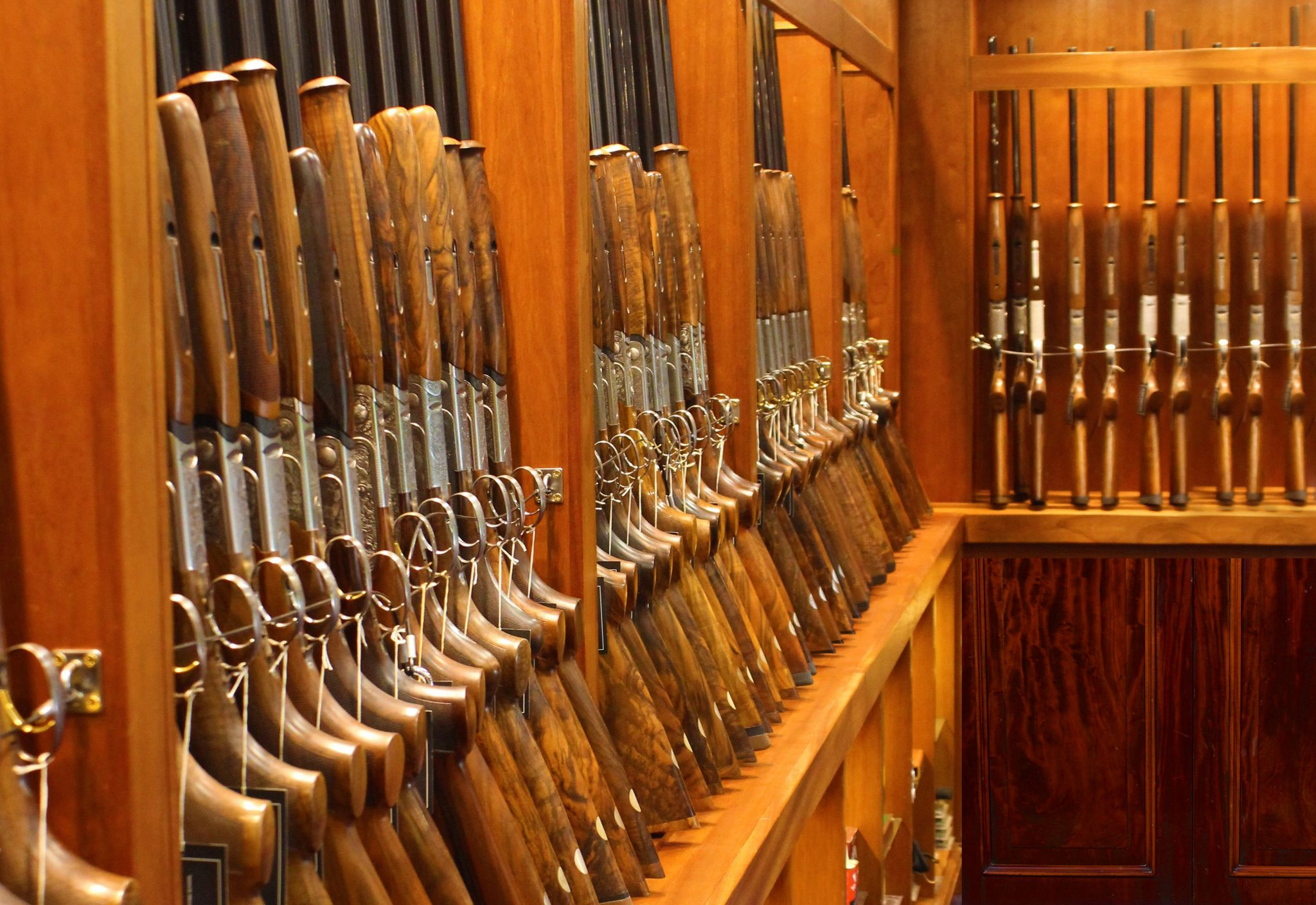 Sportarm at Lady's Wood boast a range of gun storage options