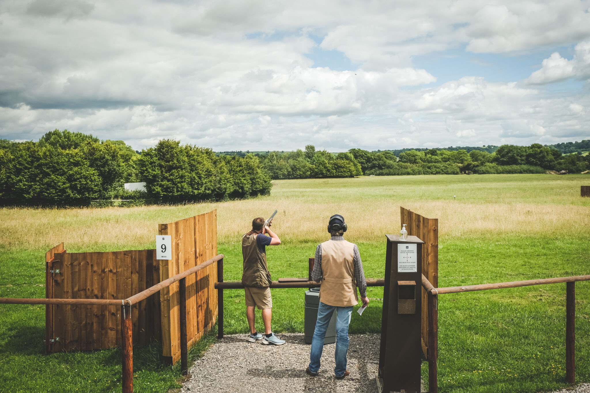 Bowman Sporting Practice Pay and Play System at Lady's Wood Shooting School