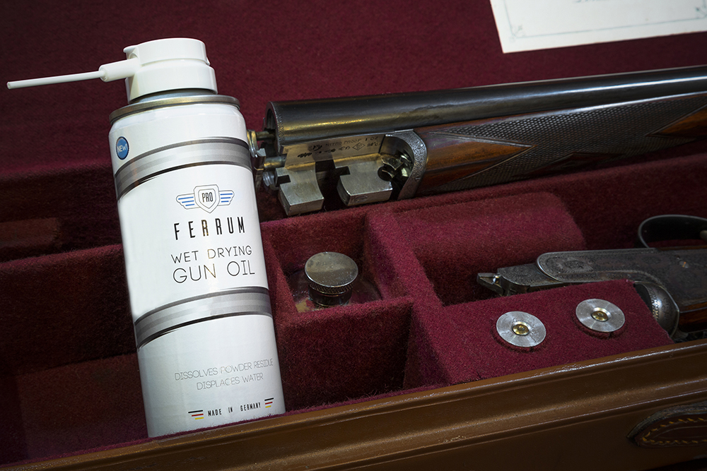 Proferrum gun oil available from Sportarm at Lady's Wood