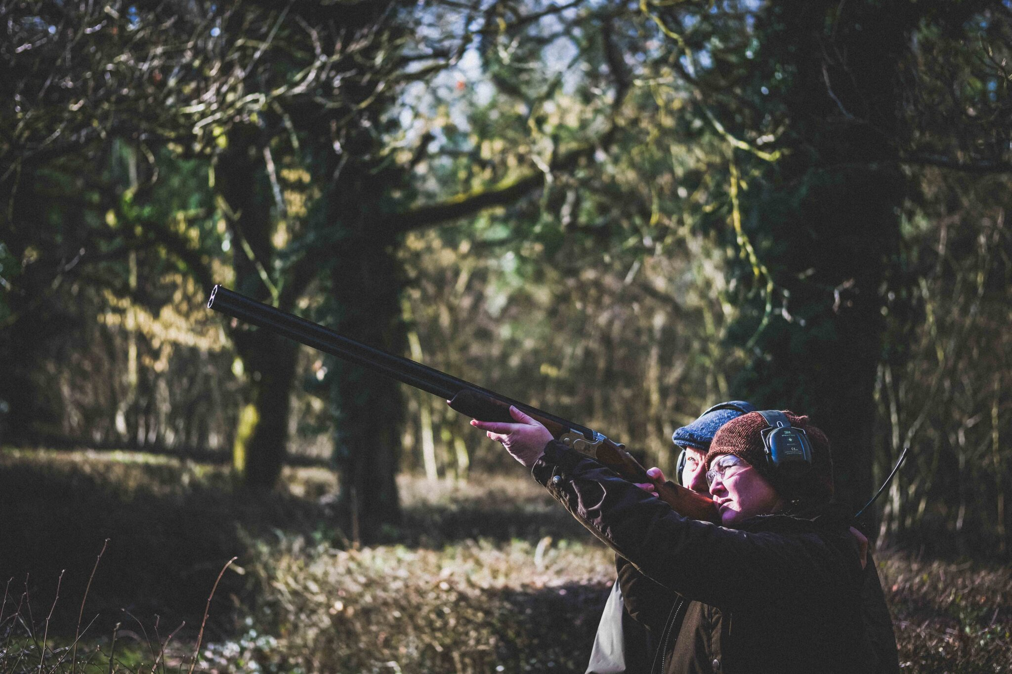 Clay shooting lessons at Lady's Wood Shooting School