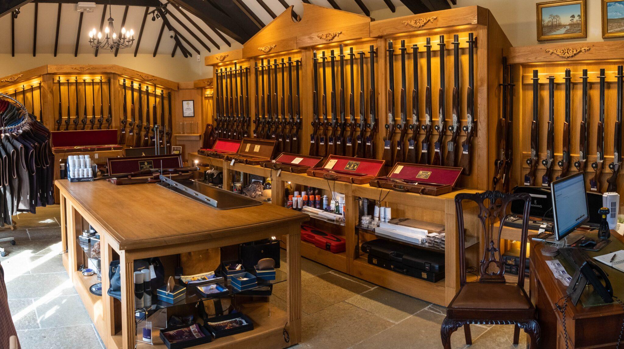 Sportarm at Lady's Wood gun room