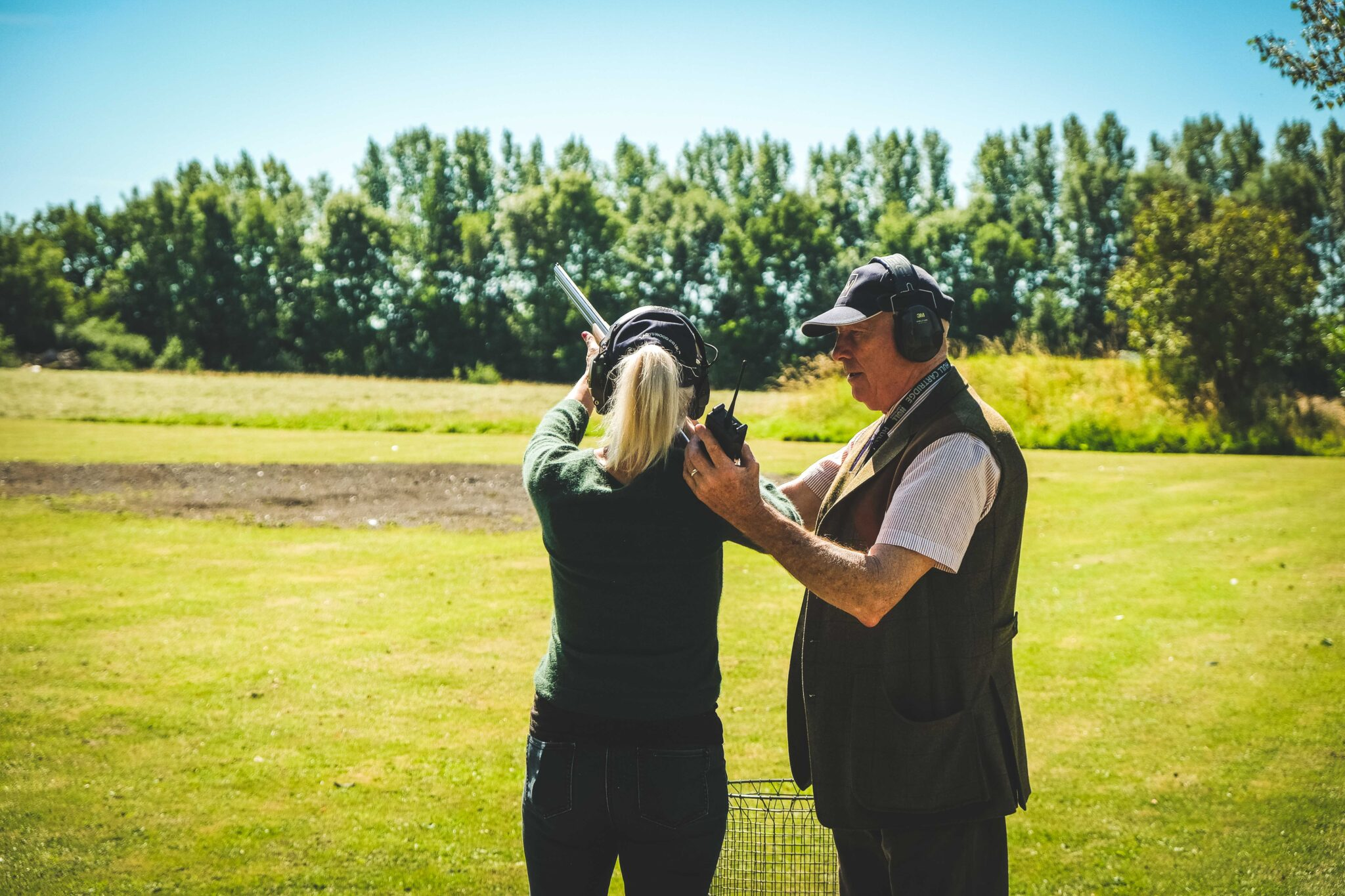 Ladies shooting lesson at Lady's Wood