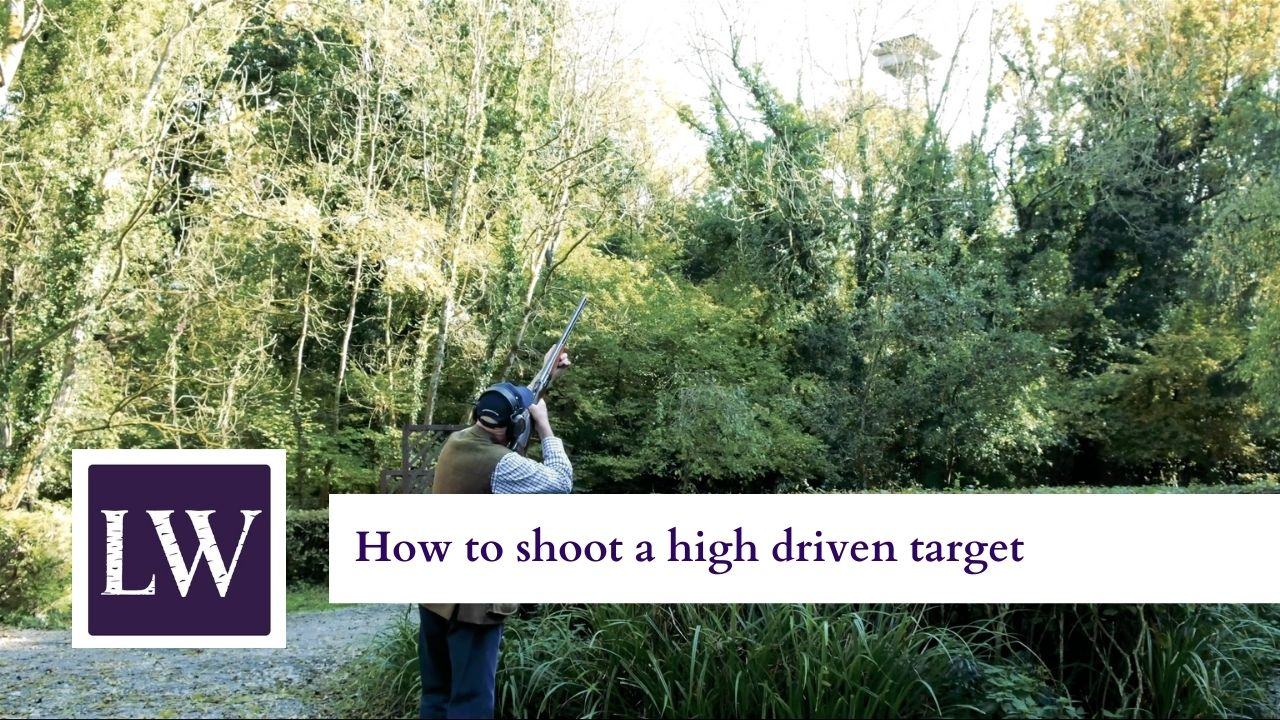 How to shoot a high driven target