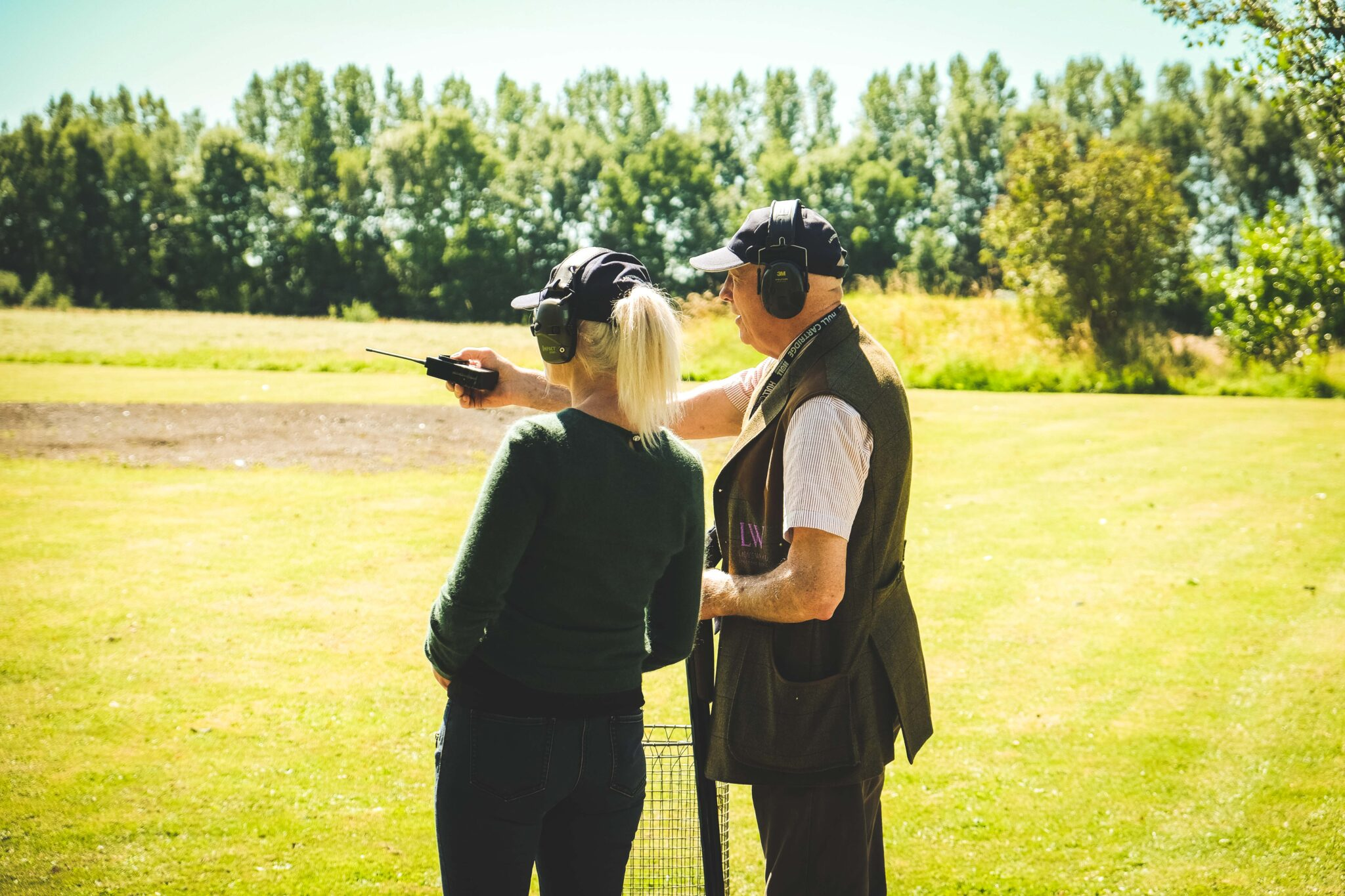 Learning to shoot - clay shooting for beginners