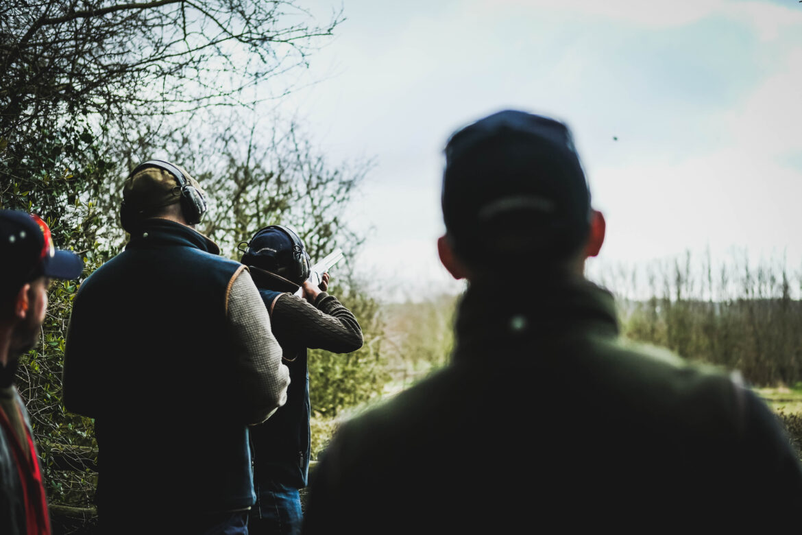 Group optimisation day at Lady's Wood Shooting School